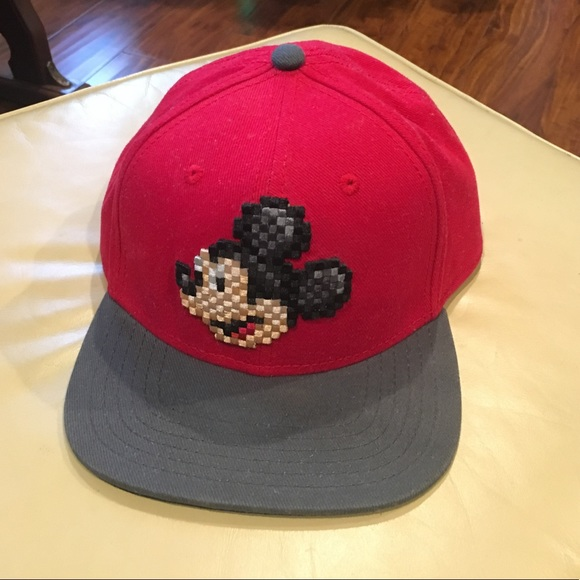 a2084c7ed1404 Disney Other - Mickey Mouse Pixel Face Baseball Cap -Youth size-